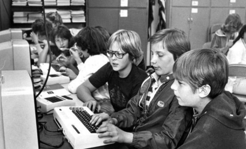 Boys Computer 80s