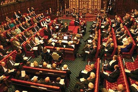 Camera Lorzilor in momentul votului