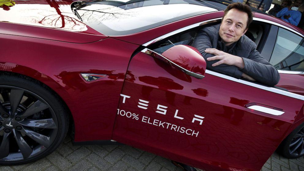 Elon Musk la o prezentare Tesla Motors