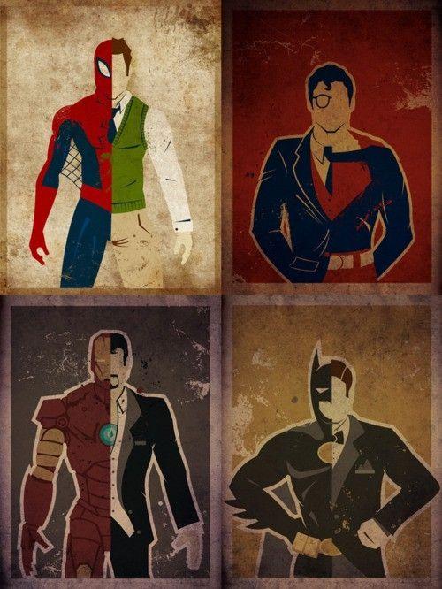 spiderman-superman-iron-man-batman